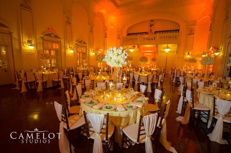 Bourne Mansion ballroom