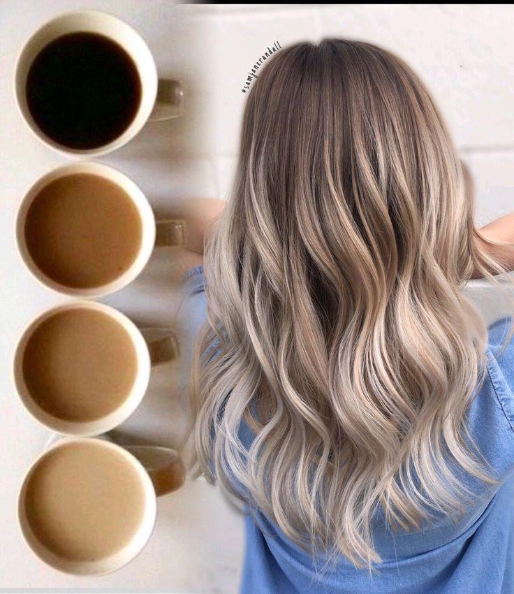 #ombrehair #balayage #blondebalayge #beachwavedhair #curlyhair #blondehair #dark…