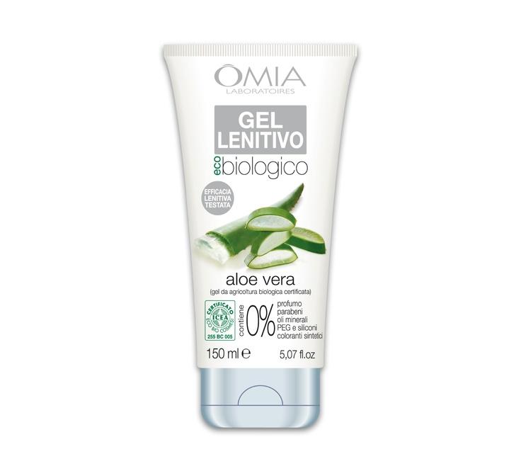 Gel lenitivo all'aloe vera della Linea Eco bio. Questo Gel Lenitivo a base di aloe vera è particolarmente indicato per persone con pelle delicata, arrossata e irritata.