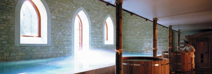 Royal Crescent Spa & Bath House at Bath England