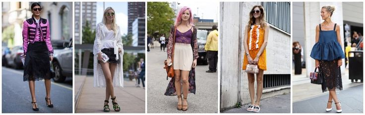 Jak nosić koronkowe ubrania latem?
