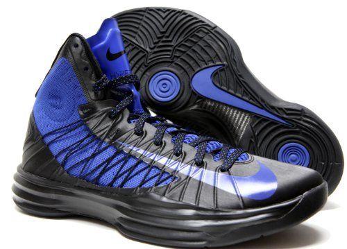 Fall/Winter Nike Lunar Hyperdunk 2012 524934-005 Black / Game Royal   Nike   Mens   2012