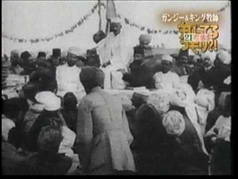 21世紀への伝言3/5【非暴力・不服従】ガンジーとキング牧師 - YouTube