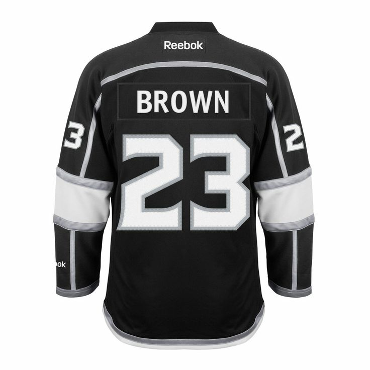 fd16519d23b ... Dustin Brown Los Angeles Kings Reebok Premier Replica Home NHL Hockey  Jersey with 2014 SC Finals Anze Kopitar ...