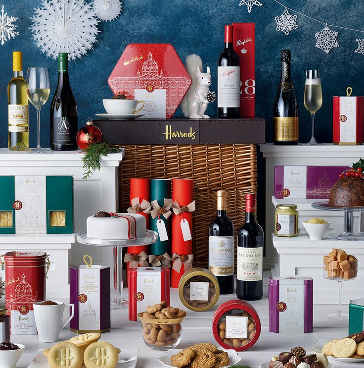 Enter for your chance to win one of two hampers from Harrods, each worth £475.