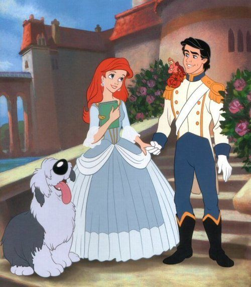 *MAX, ARIEL & PRINCE ERIC ~ THE LITTLE MERMAID II: Return to the Sea, 2000