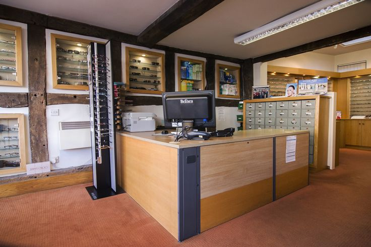 Walford and Round opticians shop floor in Stratford Upon Avon