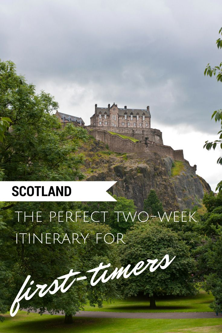 The Perfect two-week itinerary for a trip to Scotland!
