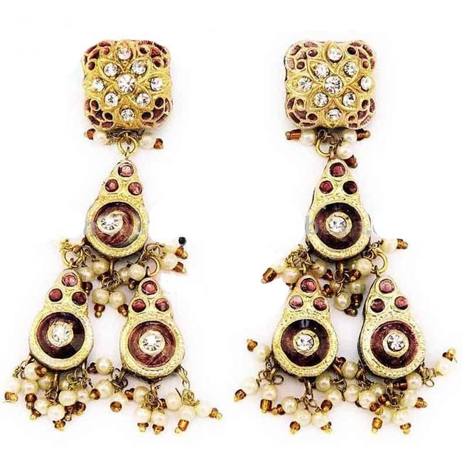 21 best Indian wedding earrings bridal set images on Pinterest