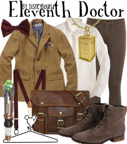 OMG THEY MADE THE ELEVENTH DOCTOR A DISNEYBOUND!!!! CAN I CRY???  I THINK I MIGHT CRY