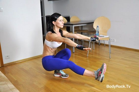 You'll have a lifted butt in no time with these squats...I was sore for 3 days the first time i did them :) they work