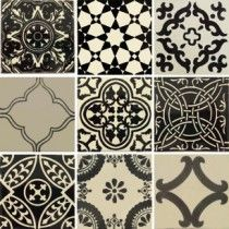 New Collection from Old World Tiles.   Classic and timeless.