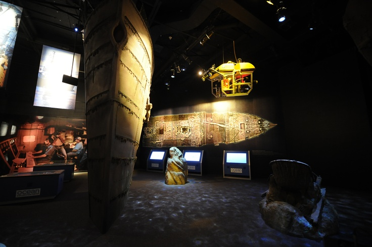 Interactive screens, replicated artifacts, submersibles, and scale models are only part of the new Titanic exhibit.