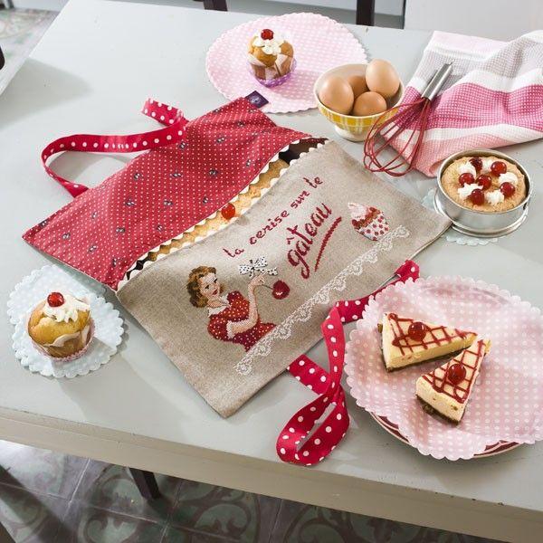 La cerise sur la gâteau...! Les Brodeuses Parisiennes