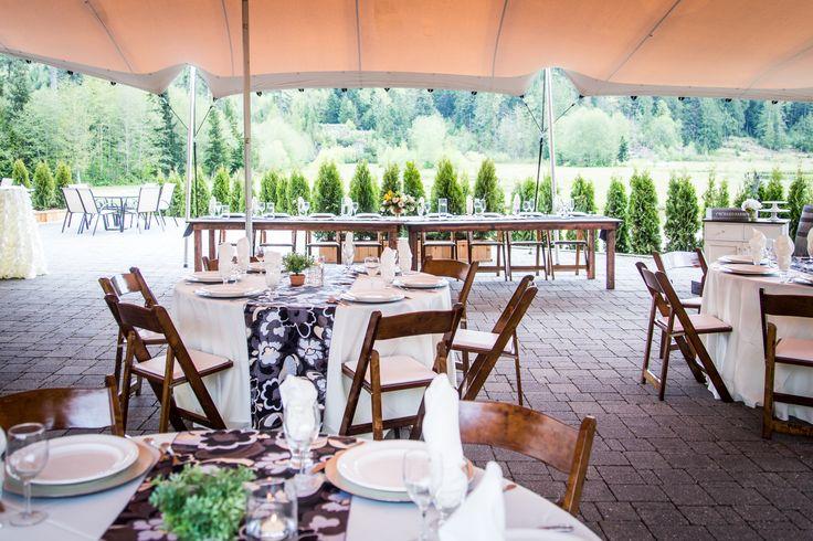 Patio Wedding at the Executive Suites Resort, Squamish BC, Canada