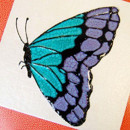 A Colorful Butterfly / Un papillon coloré