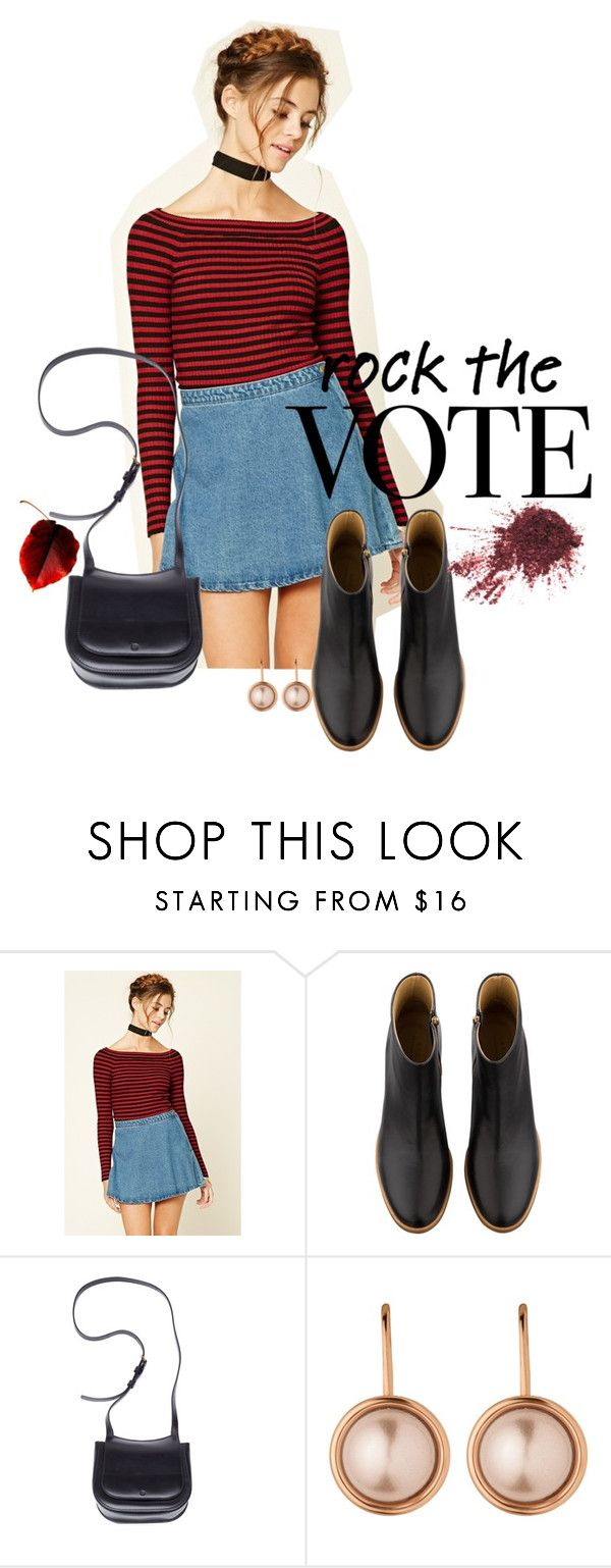 """Sin título #592"" by mafer-cmxxi on Polyvore featuring moda, Forever 21, A.P.C., The Row y Dyrberg/Kern"