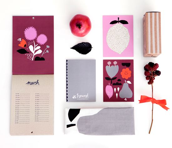 Stunning new papergoods series - Harvest by Darling Clementine out of Norway