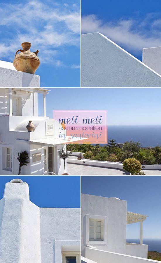 My Paradissi: Meli meli in Santorini
