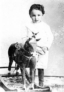 1900 Wilhelm Reich as a child