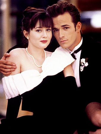 Brenda & Dylan, Beverly Hills 90210. Show was never the same after Brenda and Dylan broke up & Shannen Doherty left the show!