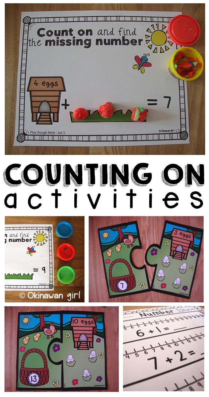 Fun differentiated activities designed to promote a deep understanding of the concept of addition by counting on (within 20).  Your students will love these activities each of which involves practising a different counting on strategy.  $