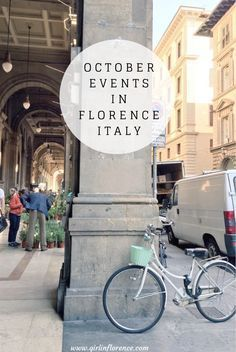 October Events in Florence Italy - Girl in Florence