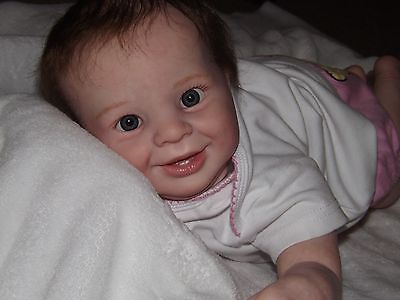 Reborn Baby Samantha Sculpted By Donna Rubert Two Little