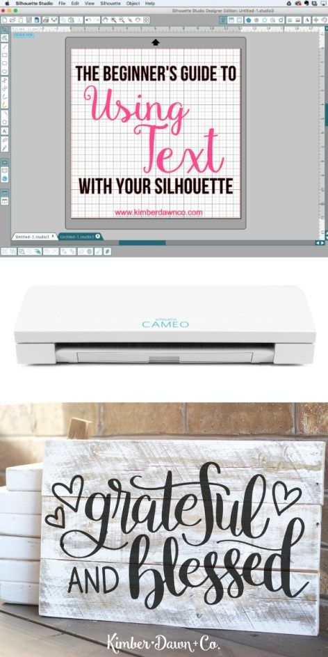 A Beginners Guide to using fonts with your Silhouette CAMEO : How to use any font with your Silhouette CAMEO