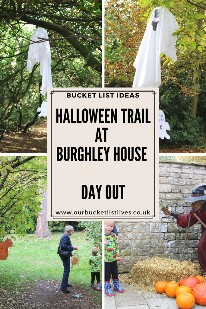 Halloween pumpkin trail at Burghley house. Day out in Lincolnshire. Family friendly #dayout #burghleyhouse #lincolnshire #travel #familytravel #halloween
