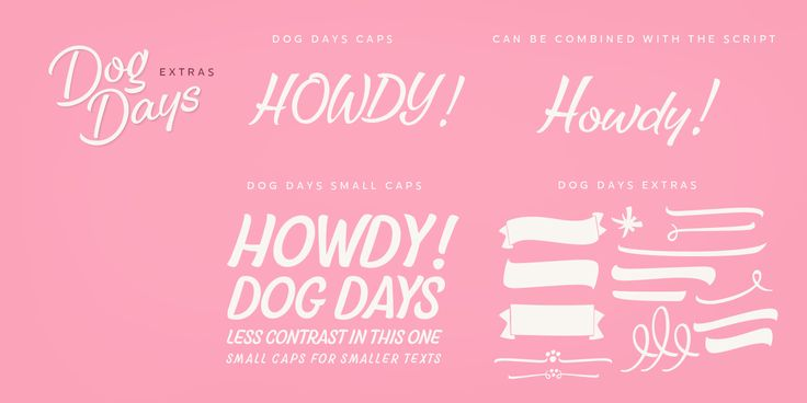 Dog Days™ - Webfont & Desktop font « MyFonts