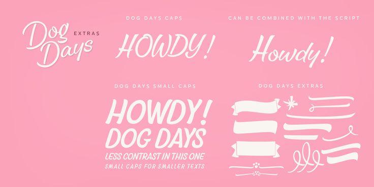 Dog Days™ - Webfont & Desktop font « MyFonts