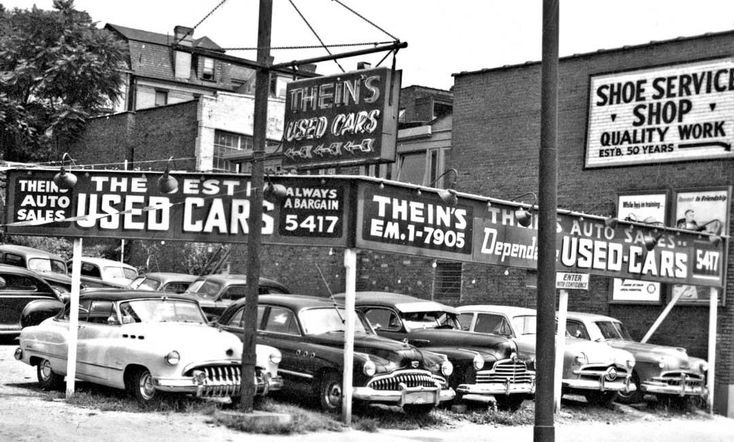 Thein's and Agnew's Used Car Lots – Pittsburgh Pennsylvania @ http://theoldmotor.com/?p=167103