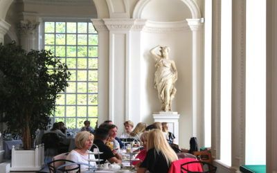 Visit Kensington Palace Gardens in London for a Royal Afternoon Tea in the Orangery