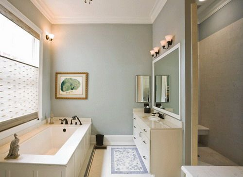 rooms+with+green+coucheswith+green+walls+monochromatic | Soothing color bathroom wall paint ideas Choosing the Best, Cool and ...