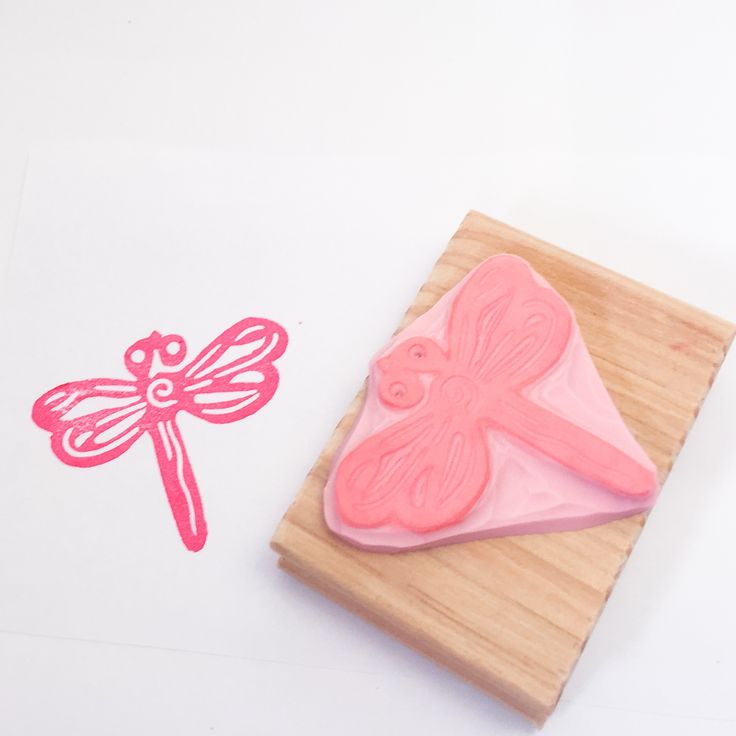 Dragonfly Stamp