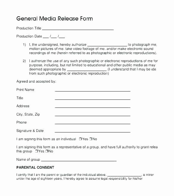 Social Media Permission Form Unique Media Release Consent Form Template Chanceinc Social Media Grade Book Template To Do Lists Printable