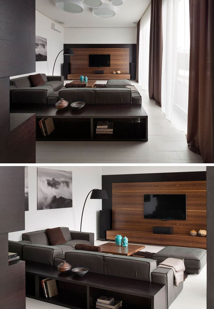 8 tv wall design ideas for your living room - Wall Tv Design Ideas