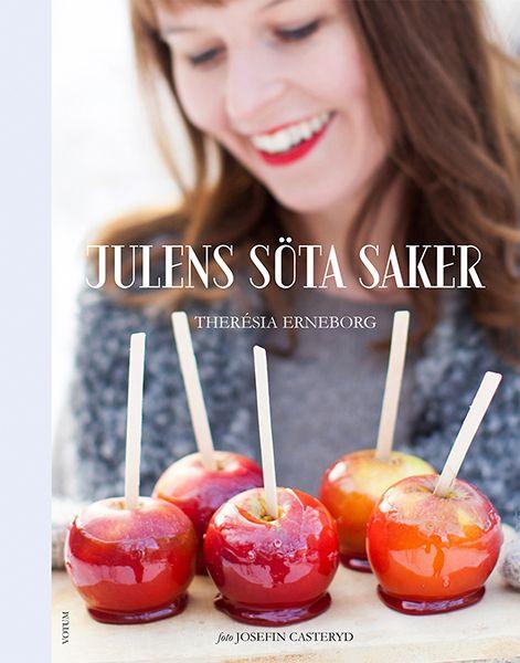 Julens söta saker av Therésia Erneborg är en kokbok full med recept på allt man kan tänkas vilja baka till jul. Här finns även många recept på julgodis.