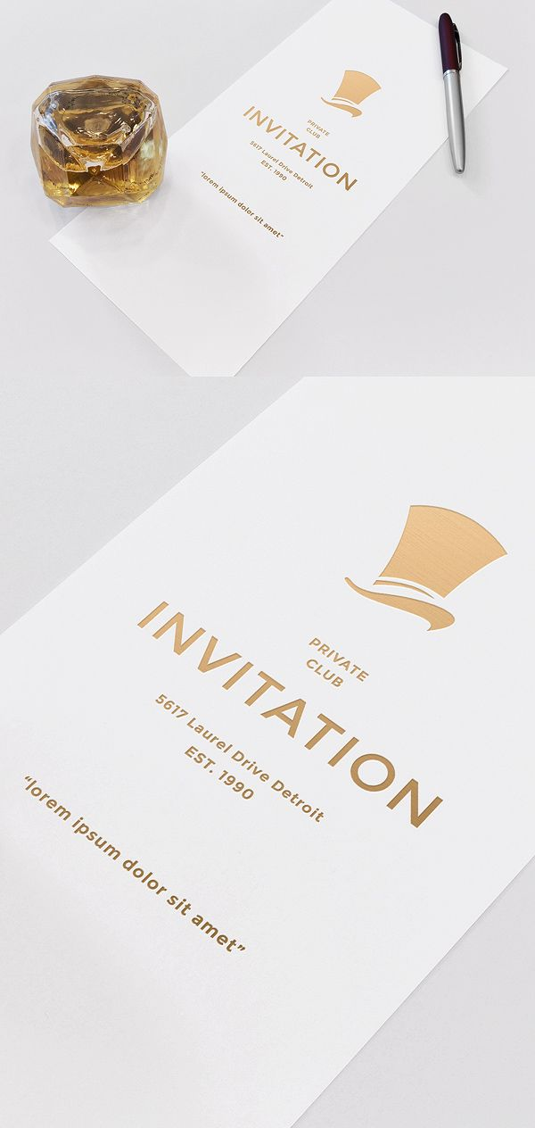 Invitation Mockup Freebie | http://alienvalley.com/mockups/invitation-mockup/ | #freebie #mockup #invitation