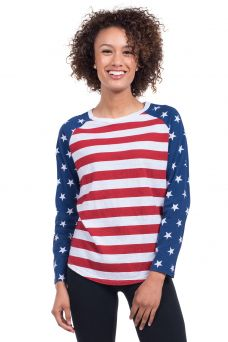 Women's American Flag Clothing   Tipsy Elves