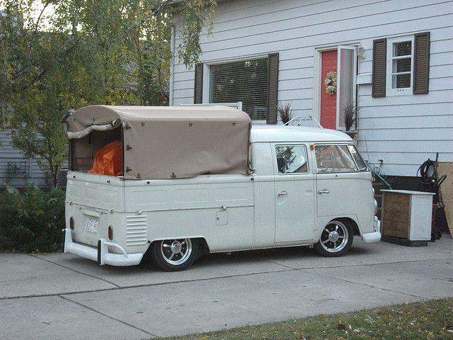 1964 Volkswagen T1 pickup by dave_7, via Flickr