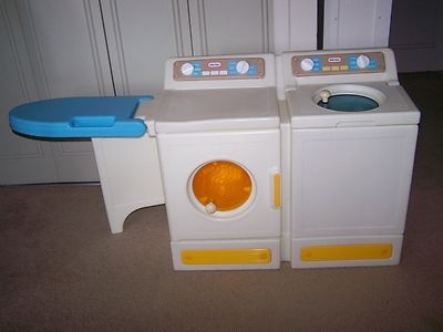 little tikes washer dryer laundry center with ironing board pick up only ebay
