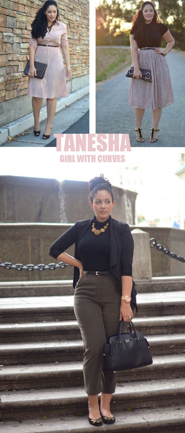 Girl With Curves: Tanesha, man this girl's got style! every body is beautiful it's all about knowing how to dress it