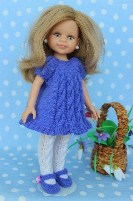Клёпочка от Paola Reina в одежде ручной работы / Игровые куклы / Шопик. Продать купить куклу / Бэйбики. Куклы фото. Одежда для кукол
