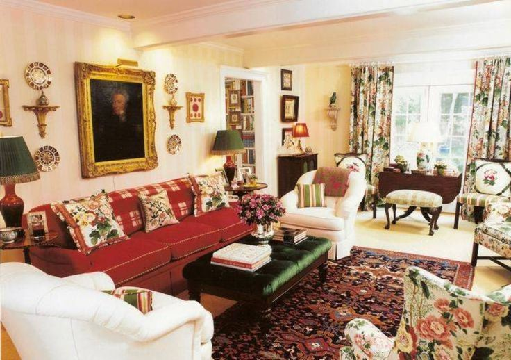 Living room best country style living rooms english for Living room ideas english