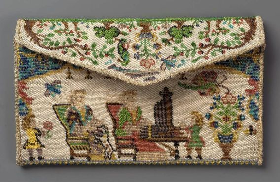 Pocketbook French ca. 1715