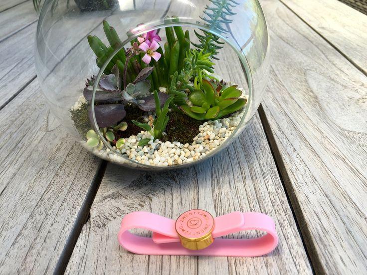 22 Sydney Pink Silicone Bracelet