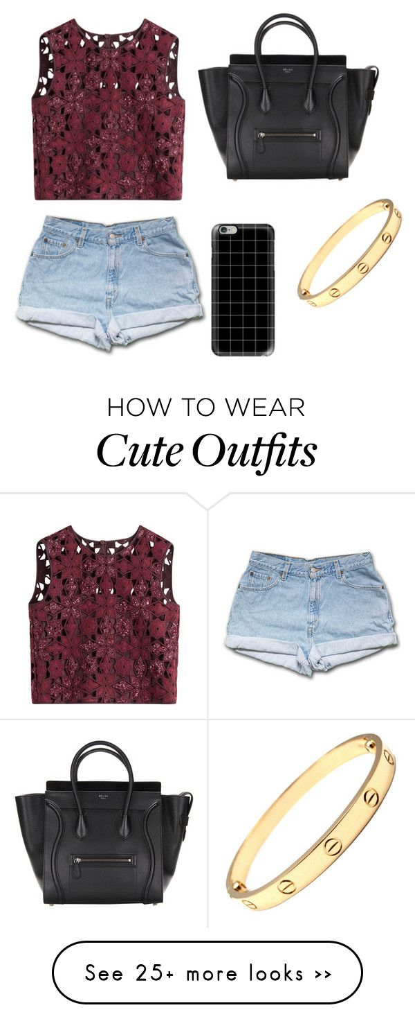"""""""casual cute lunch outfit"""" by k-castellanohernandez on Polyvore featuring Alberta Ferretti and Casetify"""