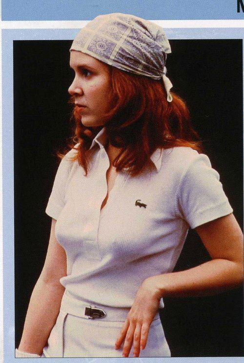 Carrie Hawt Fisher. http://www.jedipedia.net/wiki/Carrie_Fisher